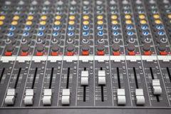 μίξη του ήχου Στοκ φωτογραφίες με δικαίωμα ελεύθερης χρήσης
