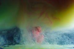 Μίξη των μελανιών χρώματος στοκ εικόνες με δικαίωμα ελεύθερης χρήσης