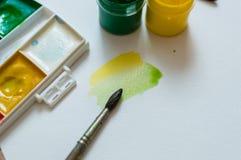 Μίξη των χρωμάτων Στοκ Φωτογραφία
