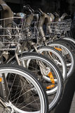 μίσθωμα ποδηλάτων Στοκ Εικόνα