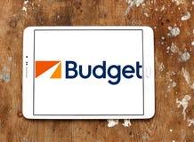 Μίσθωμα προϋπολογισμών ένα λογότυπο συστημάτων αυτοκινήτων Στοκ Φωτογραφία