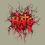 μίσος διανυσματική απεικόνιση