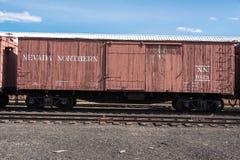 11 Μαΐου 2015 βόρειο μουσείο σιδηροδρόμων της Νεβάδας, ανατολή Ely Στοκ Φωτογραφία