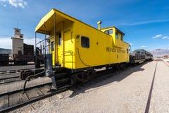 11 Μαΐου 2015 βόρειο μουσείο σιδηροδρόμων της Νεβάδας, ανατολή Ely Στοκ φωτογραφία με δικαίωμα ελεύθερης χρήσης