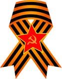 9 Μαΐου ημέρα νίκης ημέρας νίκης του κόκκινου στρατού διανυσματική απεικόνιση