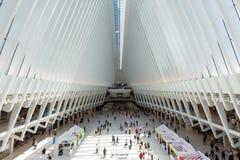 26 Μαΐου 2018 - Νέα Υόρκη, Ηνωμένες Πολιτείες: Westfield World Trade Center, πόλη της Νέας Υόρκης, Ηνωμένες Πολιτείες στοκ εικόνες