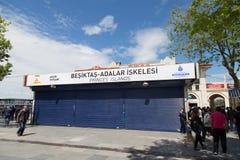 1 Μαΐου στη Ιστανμπούλ Στοκ Εικόνα