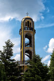 08 Μαΐου, 2016 Haskovo, Βουλγαρία: Ο πύργος κουδουνιών σε Haskovo, Βουλγαρία Στοκ Εικόνες