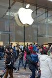 Μαγαζί λιανικής πώλησης της Apple στη Σαγγάη Στοκ εικόνες με δικαίωμα ελεύθερης χρήσης