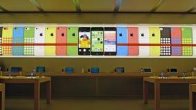 Μαγαζί λιανικής πώλησης της Apple στη Σαγκάη Στοκ φωτογραφίες με δικαίωμα ελεύθερης χρήσης