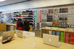 Μαγαζί λιανικής πώλησης της Apple στο chengdu Στοκ Εικόνα
