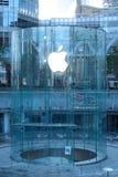Μαγαζί λιανικής πώλησης της Apple στο lujiazui της Σαγκάη Στοκ Εικόνα