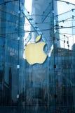 Μαγαζί λιανικής πώλησης της Apple στο lujiazui της Σαγκάη Στοκ φωτογραφίες με δικαίωμα ελεύθερης χρήσης