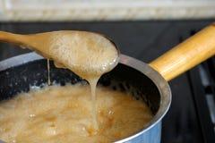 μαγείρεμα καραμελών στοκ εικόνες με δικαίωμα ελεύθερης χρήσης
