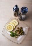 Μαγείρεμα με τα καρυκεύματα Στοκ Φωτογραφίες
