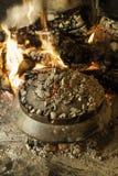 Μαγείρεμα με τις χοβόλεις Στοκ Φωτογραφία