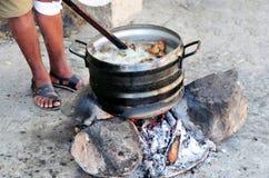 Μαγείρεμα πεζοδρομίων στοκ φωτογραφία με δικαίωμα ελεύθερης χρήσης