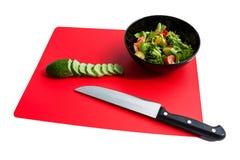 Μαγείρεμα της σαλάτας Στοκ Εικόνες
