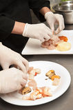 Μαγείρεμα χεριών στοκ εικόνες με δικαίωμα ελεύθερης χρήσης