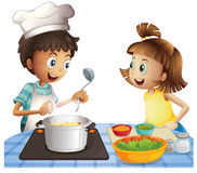μαγείρεμα Στοκ εικόνες με δικαίωμα ελεύθερης χρήσης