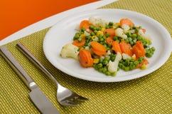 μαγειρευμένα λαχανικά Στοκ Φωτογραφία