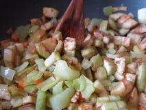 μαγειρευμένα λαχανικά Στοκ φωτογραφία με δικαίωμα ελεύθερης χρήσης