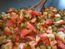 μαγειρευμένα λαχανικά Στοκ Φωτογραφίες