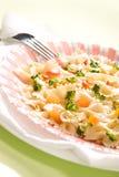 μαγειρευμένα ζυμαρικά Στοκ Εικόνες