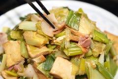 Μαγειρευμένα κινεζικά τρόφιμα στοκ εικόνες