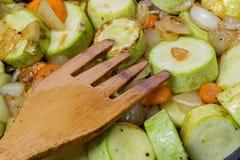 Μαγειρευμένα κολοκύθια και καρυκεύματα στοκ φωτογραφία με δικαίωμα ελεύθερης χρήσης