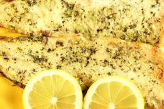 Μαγειρευμένα ψάρια Στοκ φωτογραφίες με δικαίωμα ελεύθερης χρήσης