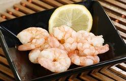 μαγειρευμένες γαρίδες Στοκ Εικόνες