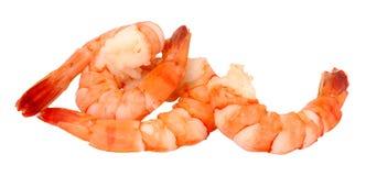 Μαγειρευμένες γαρίδες τιγρών Στοκ Εικόνες