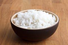 Μαγειρευμένο άσπρο ρύζι Στοκ Εικόνες