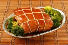 Μαγειρευμένο ήχος καμπάνας-Po χοιρινό κρέας Στοκ φωτογραφία με δικαίωμα ελεύθερης χρήσης