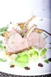 μαγειρευμένο αρνί Στοκ Εικόνες