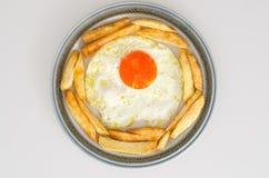 Μαγειρευμένο αυγό στοκ φωτογραφία με δικαίωμα ελεύθερης χρήσης