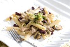 μαγειρευμένο γεύμα Στοκ εικόνα με δικαίωμα ελεύθερης χρήσης