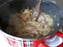 Μαγειρευμένο κοτόπουλο Στοκ εικόνα με δικαίωμα ελεύθερης χρήσης