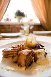 μαγειρευμένο κρέας Στοκ Εικόνα