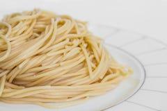 Μαγειρευμένο πιάτο μακαρονιών. Στοκ φωτογραφίες με δικαίωμα ελεύθερης χρήσης