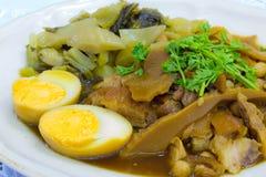 Μαγειρευμένο πόδι χοιρινού κρέατος Στοκ φωτογραφία με δικαίωμα ελεύθερης χρήσης