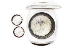 Μαγειρευμένο ρύζι στο δοχείο κουζινών. Στοκ φωτογραφία με δικαίωμα ελεύθερης χρήσης