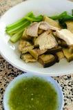 Μαγειρευμένο Mekong γατόψαρο με την πικάντικη σάλτσα Στοκ φωτογραφίες με δικαίωμα ελεύθερης χρήσης