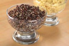μαγειρευμένο quinoa κόκκινο Στοκ Εικόνες