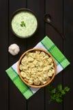 Μαγειρευμένο Tortellini Στοκ Φωτογραφία