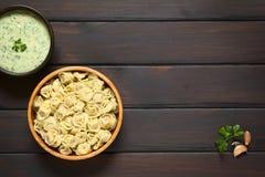 Μαγειρευμένο Tortellini Στοκ φωτογραφία με δικαίωμα ελεύθερης χρήσης