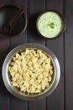 Μαγειρευμένο Tortellini Στοκ Εικόνες