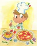 μαγειρεψτε τα ιταλικά Στοκ Εικόνες
