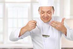 Μαγειρεύοντας εύγευστα τρόφιμα Στοκ φωτογραφία με δικαίωμα ελεύθερης χρήσης